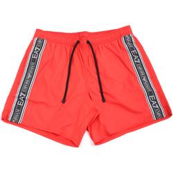 textil Herr Badbyxor och badkläder Ea7 Emporio Armani 902000 0P734 Röd