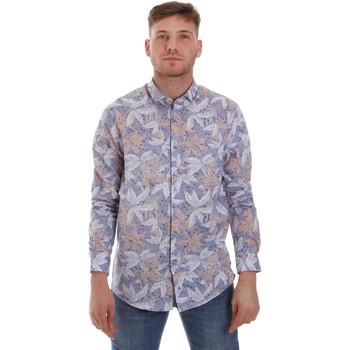 textil Herr Långärmade skjortor Sseinse CE502SS Blå