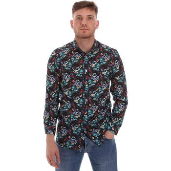 textil Herr Långärmade skjortor Sseinse CE509SS Blå