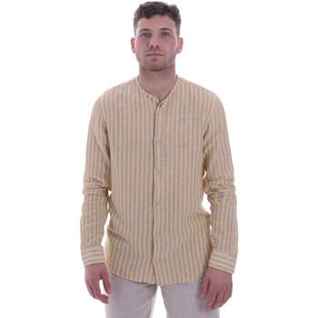 textil Herr Långärmade skjortor Sseinse CE534SS Beige