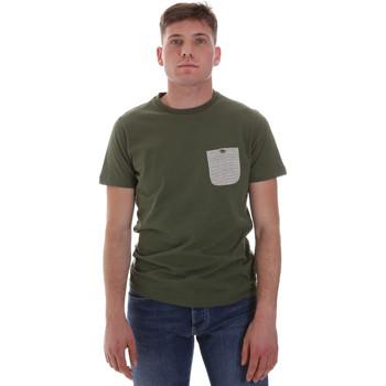 textil Herr T-shirts Sseinse ME1588SS Grön