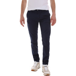 textil Herr Chinos / Carrot jeans Sseinse PSE555SS Blå