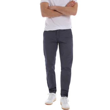 textil Herr Chinos / Carrot jeans Sseinse PSE569SS Blå
