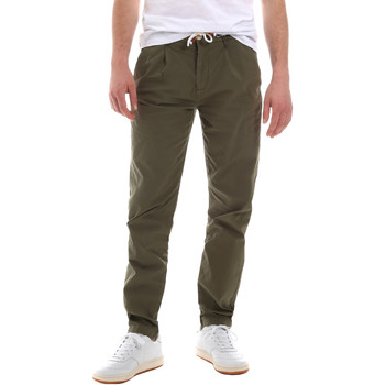 textil Herr Chinos / Carrot jeans Sseinse PSE612SS Grön
