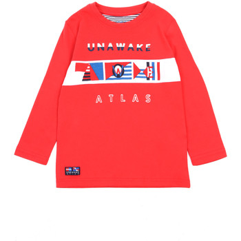 textil Flickor Långärmade T-shirts Losan 015-1002AL Röd