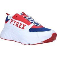Skor Herr Sneakers Pyrex PY020206 Vit