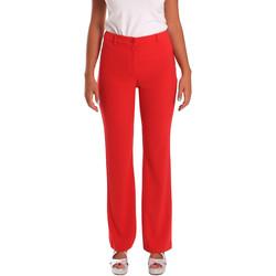 textil Dam Chinos / Carrot jeans Gaudi 811FD25013 Röd