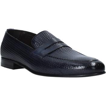 Skor Herr Loafers Exton 1021 Blå