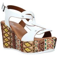 Skor Dam Sandaler Grace Shoes 09 Vit