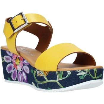 Skor Dam Sandaler Grace Shoes 02 Gul