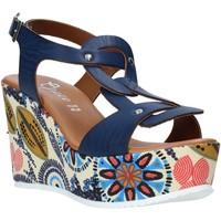 Skor Dam Sandaler Grace Shoes 09 Blå