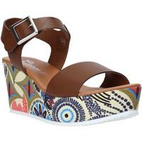 Skor Dam Sandaler Grace Shoes 07 Brun