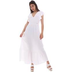 textil Dam Långklänningar Gaudi 011BD15039 Vit
