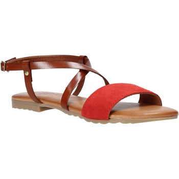 Skor Dam Sandaler Jeiday YARA-SALLY Röd