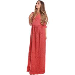 textil Dam Långklänningar Fracomina FR20SM506 Röd