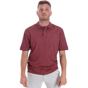 textil Herr Kortärmade pikétröjor Les Copains 9U9016 Röd