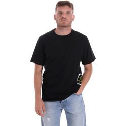textil Herr T-shirts Converse 10018872-A03 Svart