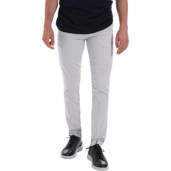 textil Herr Chinos / Carrot jeans Les Copains 9U3320 Grå