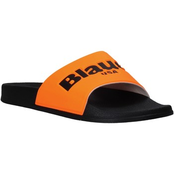 Skor Herr Flipflops Blauer S0BAY02/FLU Orange