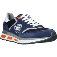 Skor Herr Sneakers Blauer S0HILO01/CAM Blå