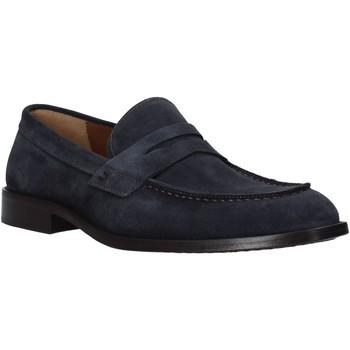 Skor Herr Loafers Carmine D'urso 161432CD Blå