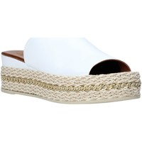 Skor Dam Tofflor Bueno Shoes Q5905 Vit