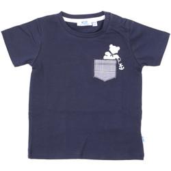 textil Barn T-shirts Melby 20E5070 Blå
