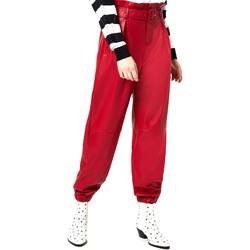 textil Dam Chinos / Carrot jeans Liu Jo WA0276 E0392 Röd