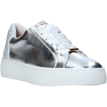 Skor Dam Sneakers Love To Love TER32 Silver