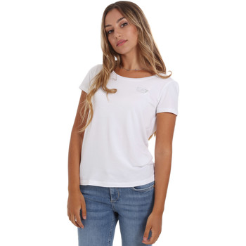 textil Dam T-shirts Ea7 Emporio Armani 8NTT64 TJ28Z Vit