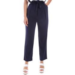 textil Dam Chinos / Carrot jeans Gaudi 011BD25040 Blå