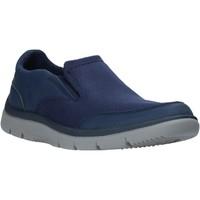 Skor Herr Slip-on-skor Clarks 26140336 Blå