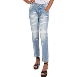 textil Dam Jeans Fornarina BER1I95D832DU Blå