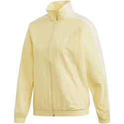 textil Dam Sweatjackets adidas Originals FM7179 Gul