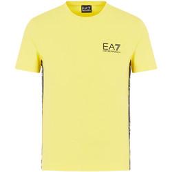textil Herr T-shirts Ea7 Emporio Armani 3HPT07 PJ03Z Gul