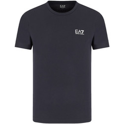 textil Herr T-shirts Ea7 Emporio Armani 8NPT51 PJM9Z Blå