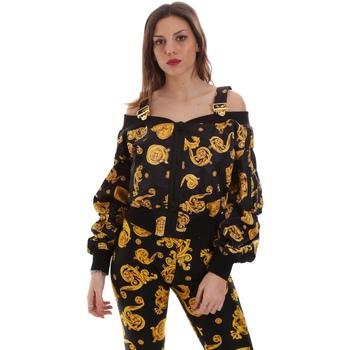 textil Dam Sweatshirts Versace C0HVB932S0774899 Svart