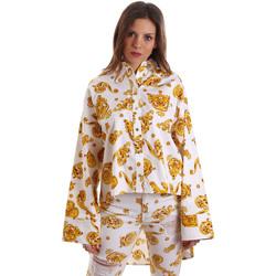 textil Dam Skjortor / Blusar Versace B0HVB624S0771003 Vit