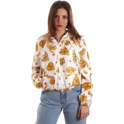 textil Dam Sweatshirts Versace C9HVB92525115003 Vit