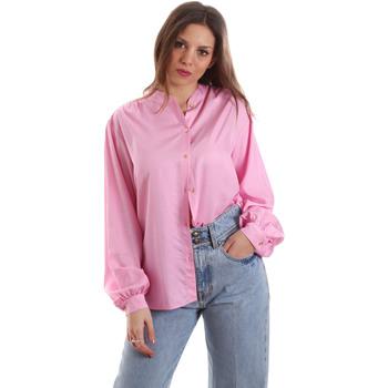 textil Dam Skjortor / Blusar Versace B0HVB62307619445 Rosa