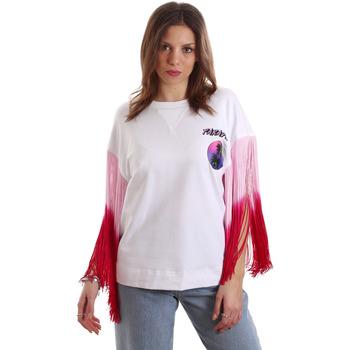 textil Dam T-shirts Versace B2HVB71511701003 Vit