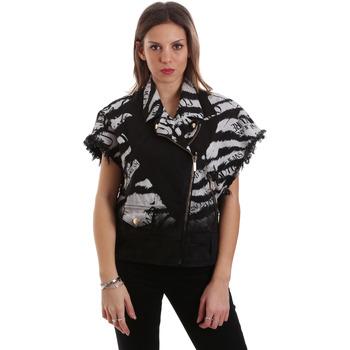 textil Dam Vindjackor Versace C0HVB92DHRC5X899 Svart