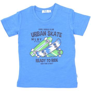 textil Barn T-shirts Melby 20E7370 Blå
