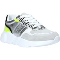 Skor Dam Sneakers Gold&gold A20 GA265 Silver