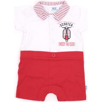 textil Flickor Uniform Melby 20P7370 Röd