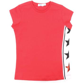 textil Flickor T-shirts Melby 70E5645 Röd