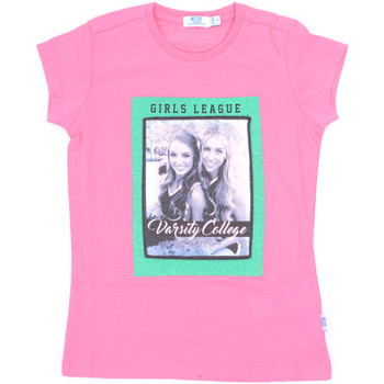 textil Flickor T-shirts Melby 70E5645 Rosa