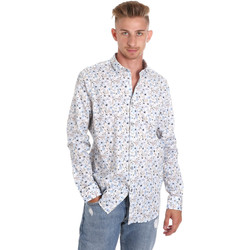 textil Herr Långärmade skjortor Sseinse CE491SS Vit
