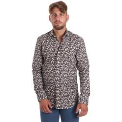 textil Herr Långärmade skjortor Betwoin DIONISIOÙ Vit