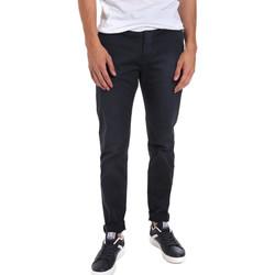 textil Herr Chinos / Carrot jeans Gaudi 011BU25004WC Blå